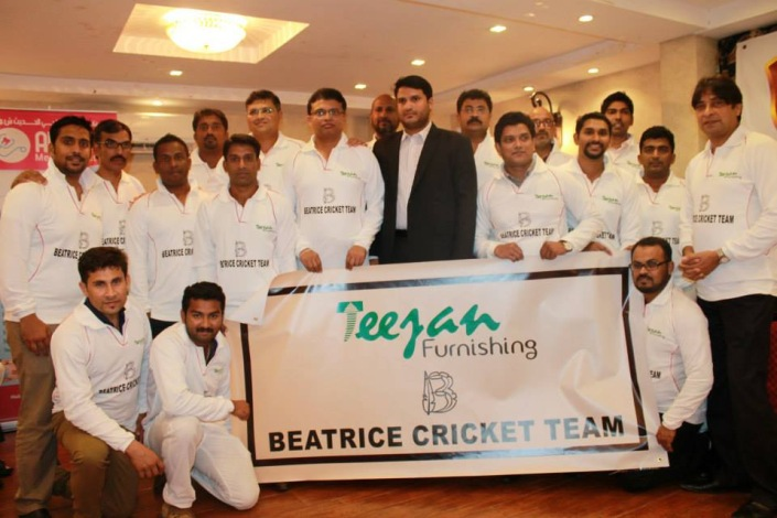 Teejan Furnishing Beatrice Oman Cricket Team launch ceremony - 24 September 2014