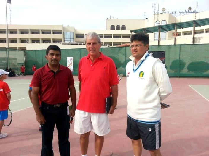 Upcoming Ground Tennis Tournament Preparation, Beatrice Oman - 31 Jan 2014