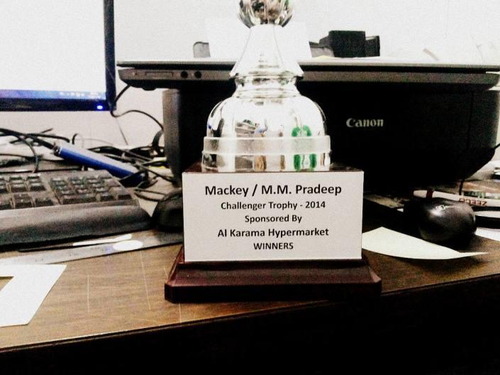 Mackey/M.M. Pradeep Challenger Trophy - 2014