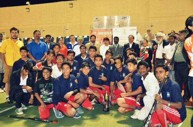 66th Republic Day Cup, Oman - Hockey Match, 24th January 2015