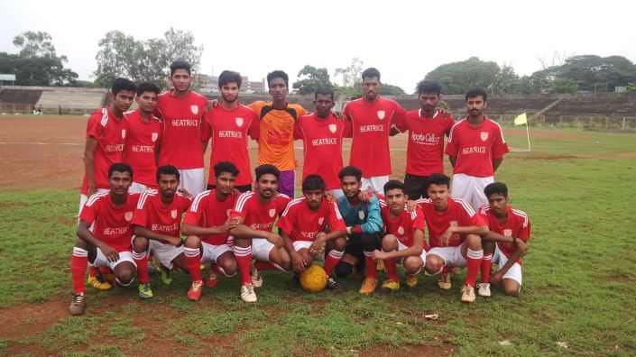 Beatrice wins the 3rd Division Kannur Football League, May, 2014